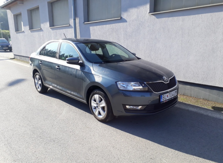 ŠKODA Rapid DSG 1,0 TSI / 81 kW Ambition Plus