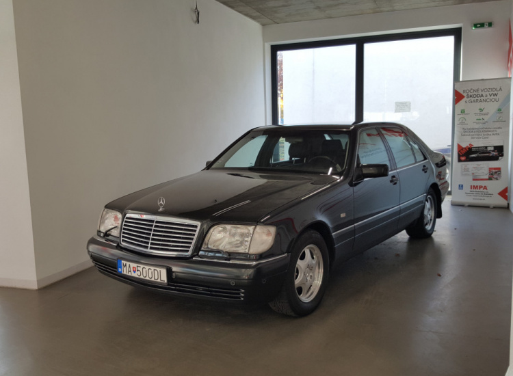 Mercedes-Benz S500  5,0  / 240 kW