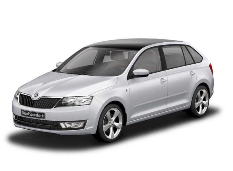 ZA - 208743 ŠKODA Rapid Spaceback Joy 1.2 TSI 66kW