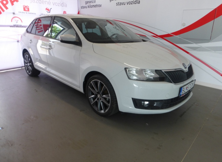 ŠKODA Rapid Spaceback TDI 1,4 TDI / 66 kW Ambition