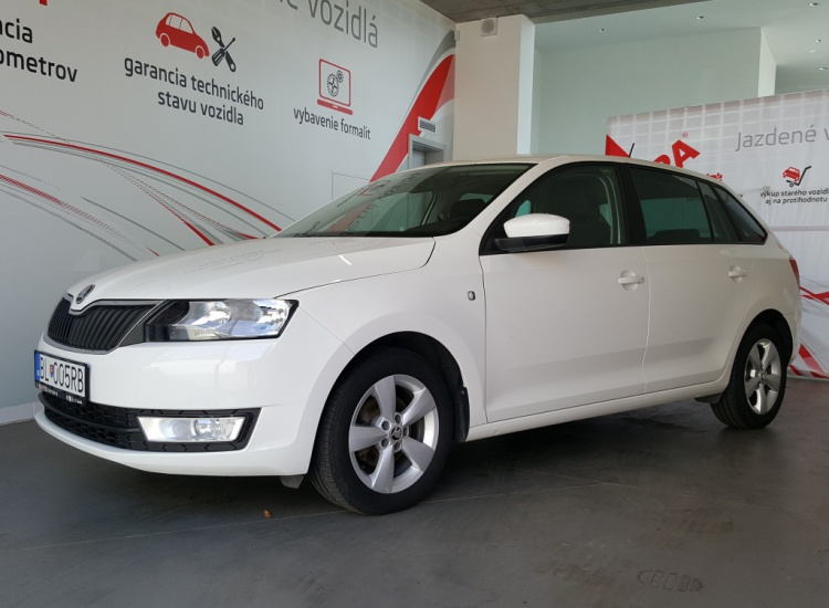 ŠKODA Rapid Spaceback 1,2 TSI / 63 kW Ambition
