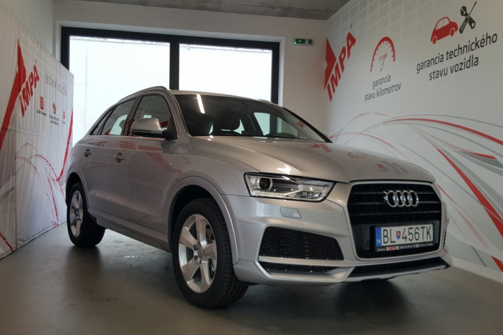 Audi Q3  1,4 TSI Stronic Manager Basic / 110 kW
