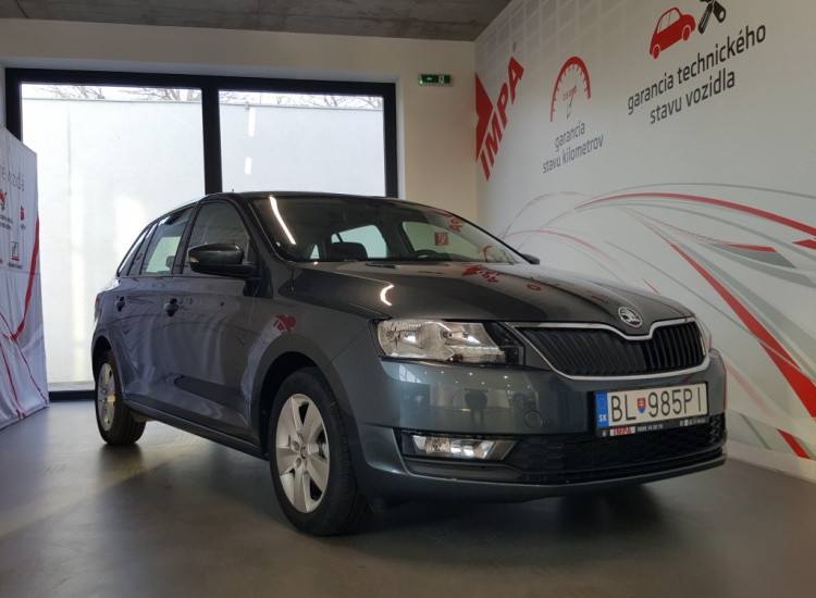 ŠKODA Rapid Spaceback TSI 1,0 / 70 kW Ambition