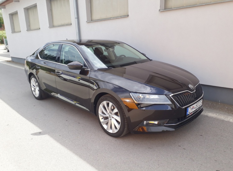 ŠKODA Superb DSG 2,0 CR / 110 kW Style Plus